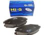 SP1086 Hi-Q (SANGSIN) Колодка тормозная передняя Ланос 1.5, Сенс (Hi-Q) (фото 1)